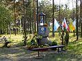 Pamiątka przy Leśnej poświęcona Papieżowi.jpg