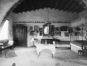 Panajiotis hus, interiör. Idalion - SMVK - C01081.tif