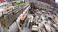 Pano looking west at the excavation for the new Globe and Mail building, 2014 12 26 (6).JPG - panoramio.jpg