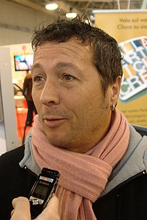 Paolo Belli Italian singer and television presenter