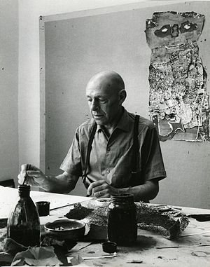 Jean Dubuffet - Jean Dubuffet photographed by Paolo Monti in 1960 (Fondo Paolo Monti, BEIC)