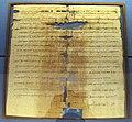 Papiro con capo distretto Maimachos che informa zenone sull'assegnazione dei terreni da pascolo, PSI IV 361, philadelphia (grecia), 7 dic. 251 ac..JPG