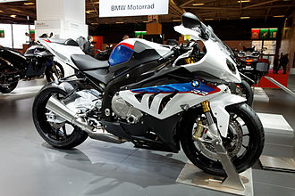 BMW S1000RR - A 2011 S1000RR in BMW Motorsport livery.