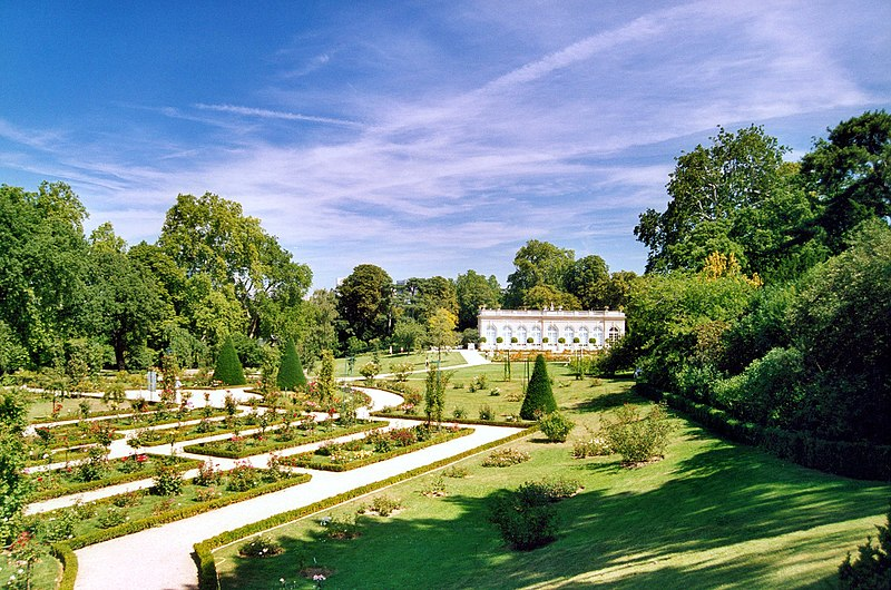 photo orangerie jardins de bagatelle