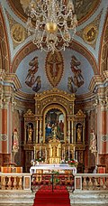 Parish church St. Ulrich - Urtijëi - High altar.jpg