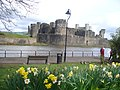 Park at Caerphilly Castle - geograph.org.uk - 2341019.jpg