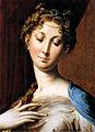 Parmigianino, madonna dal collo lungo, 02.jpg