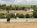 Parnes (60), église Saint-Josse, approche par l'est 2.jpg