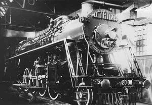 Russian locomotive class IS