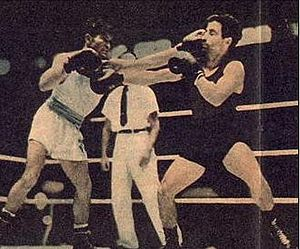 Argentina at the 1948 Summer Olympics - Pascual Pérez during the gold medal fight.