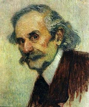 Václav Suk - The Conductor V. Suk  Portrait by Leonid Pasternak, 1898.
