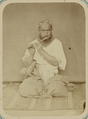 Pastimes of Central Asians. A Musician Playing a Nai, a Flute-like Instrument WDL10825.png