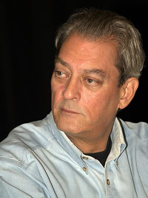 English: Paul Auster at the 2010 Brooklyn Book...