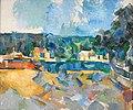 Paul Cézanne - Au bord d'une rivière (RISD).jpg