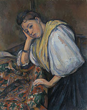 Paul Cézanne - Young Italian Woman at a Table - 99.PA.40 - J. Paul Getty Museum.jpg