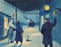 Paul Fischer - Det sidste tog.png