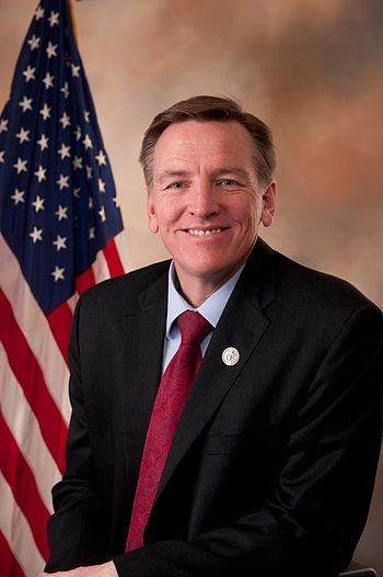 English: Official portrait of US Rep. Paul Gosar.