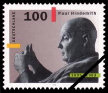 Briefmarke zum 100.Geburtstag 1995 (Quelle: Wikimedia)