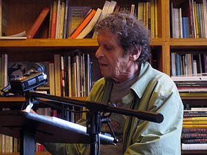 Paul Krassner - Paul Krassner at City Lights Bookstore in 2009