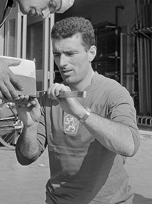 Pavel Schmidt - Schmidt at the 1964 European Championships