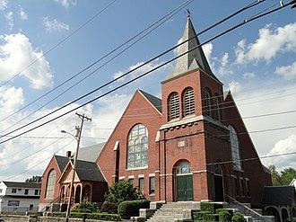 Pawtucket Congregational Church (Lowell, Massachusetts) - Image: Pawtucket Congregational Church Lowell, Massachusetts DSC00164