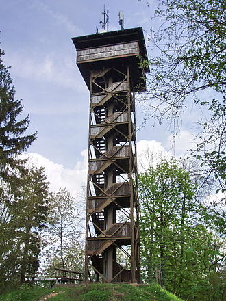 Pegnitz (town) - The 1923 observation tower