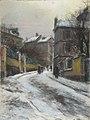 Pelletier P.J. - Pastel - Rue enneigée à Montmartre - ~61x45,5cm.jpg