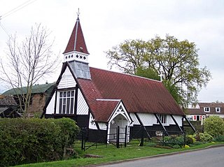 Pendock Human settlement in England