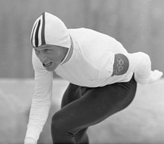 Per Willy Guttormsen Norwegian speed skater