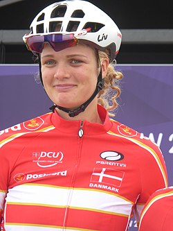 Pernille Mathiesen - 2018 UEC European Road Cycling Championships (Women's road race).jpg