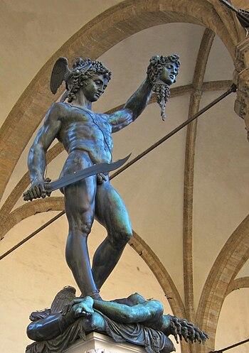 Perseus by Benvenuto Cellini 01