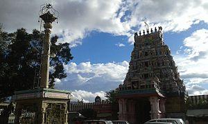 Perur Pateeswarar Temple - Gopuram at the entrance of the temple