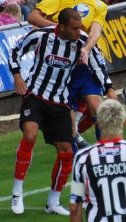 Peter Bore English footballer