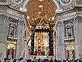 Petersbasilika - Basilika St. Peter - Altar - panoramio.jpg