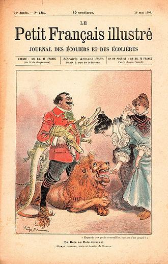 Le Petit Français illustré - Le Petit Français illustré, no. 181, May 16, 1903, with a cover illustration by Albert Robida (1848–1926)
