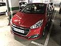 Peugeot 208 de Sixt à l'aéroport de Malaga en Espagne 02.jpg