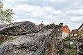 Pfarrweisach, Liechtenstein, Ruine der Nordburg 20170414 018.jpg