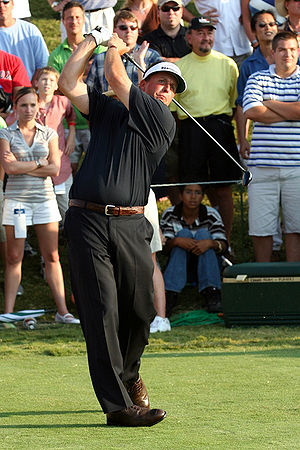 TPC at Sawgrass - Image: Phil Mickelson TPC18th Tee