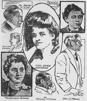 "Child harvesting - In 1904, Elizabeth Ashmead of Philadelphia was arrested, along with several of her associates, and charged with running a ""baby farm"""