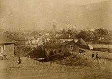 Photograph of Sofia, Bulgaria, c 1881