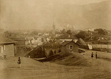Sofia in 1881 Photograph of Sofia, Bulgaria, c 1881.jpg