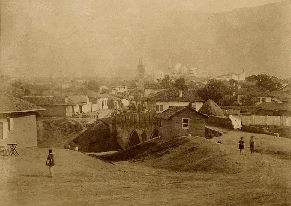 Photograph of Sofia, Bulgaria, c 1881