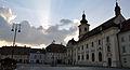 Piata Mare din Sibiu la amurg.JPG