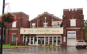Picton, Ontario - The Armoury