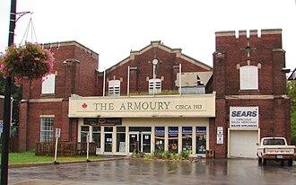 Picton, Ontario - The Armoury