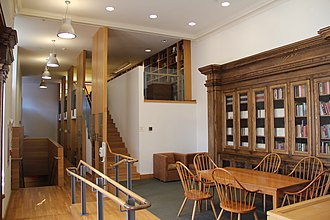 Residential colleges of Yale University - Pierson College library after its 2004 renovation