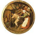 Pieter Brueghel the elder - 1568 - The Drunkard pushed into the pigsty.jpg