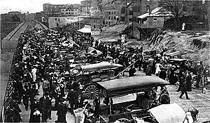 History of the Pike Place Market - The Pike Place Market in 1908