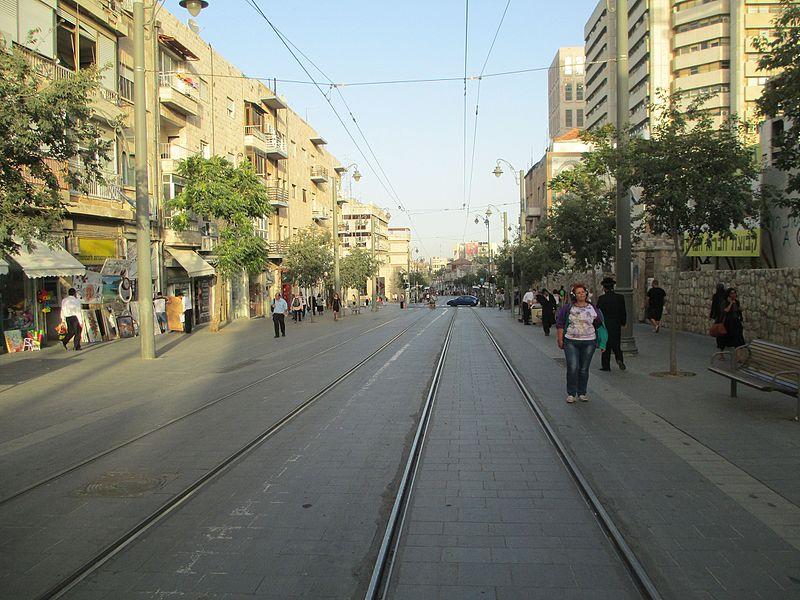 רחוב יפו בירושלים