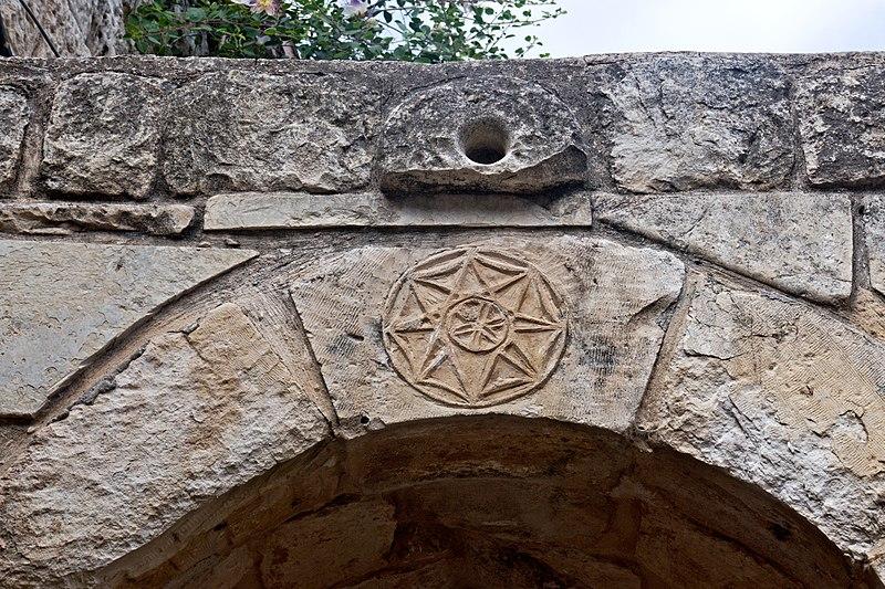 אלמנטים בבניה בצפת העתיקה